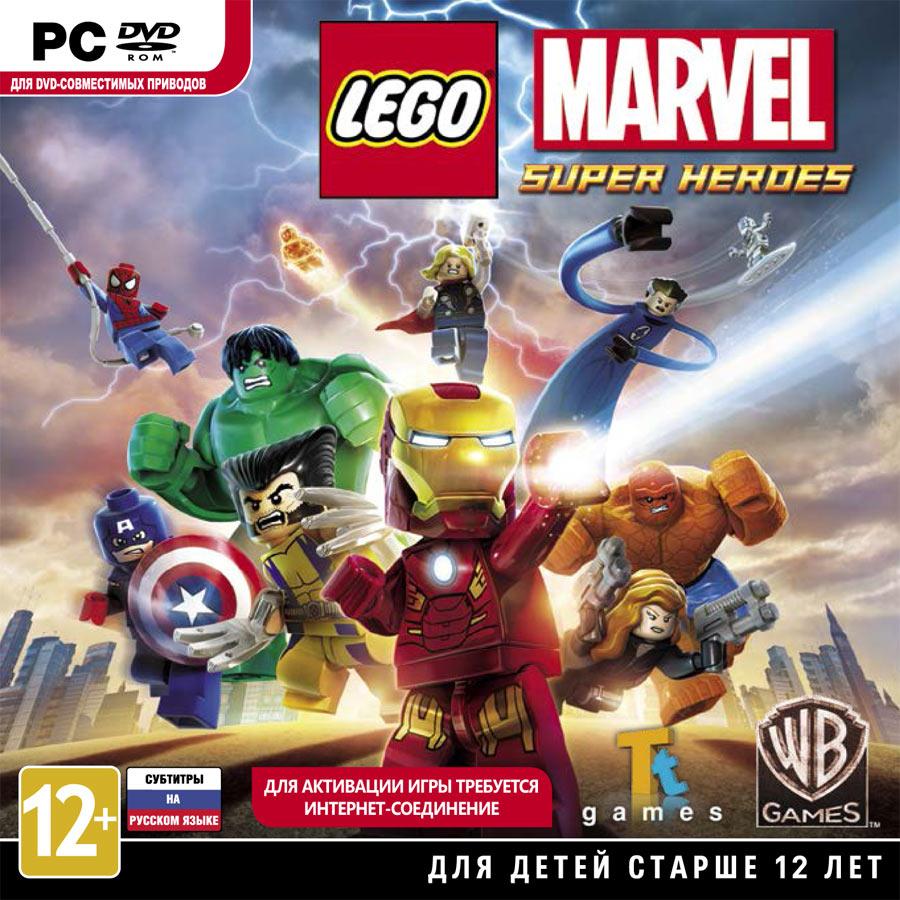 Лего марвел супер хироус скачать игру на пк