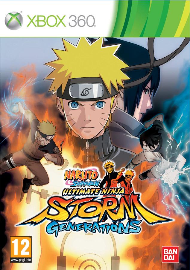 Naruto shippuden ultimate ninja storm 2 proje xbox 360 front cover