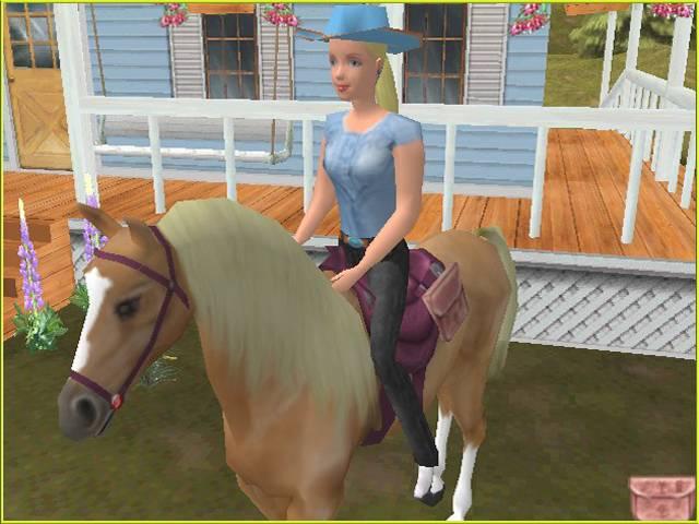 Видео игры барби и лошадь