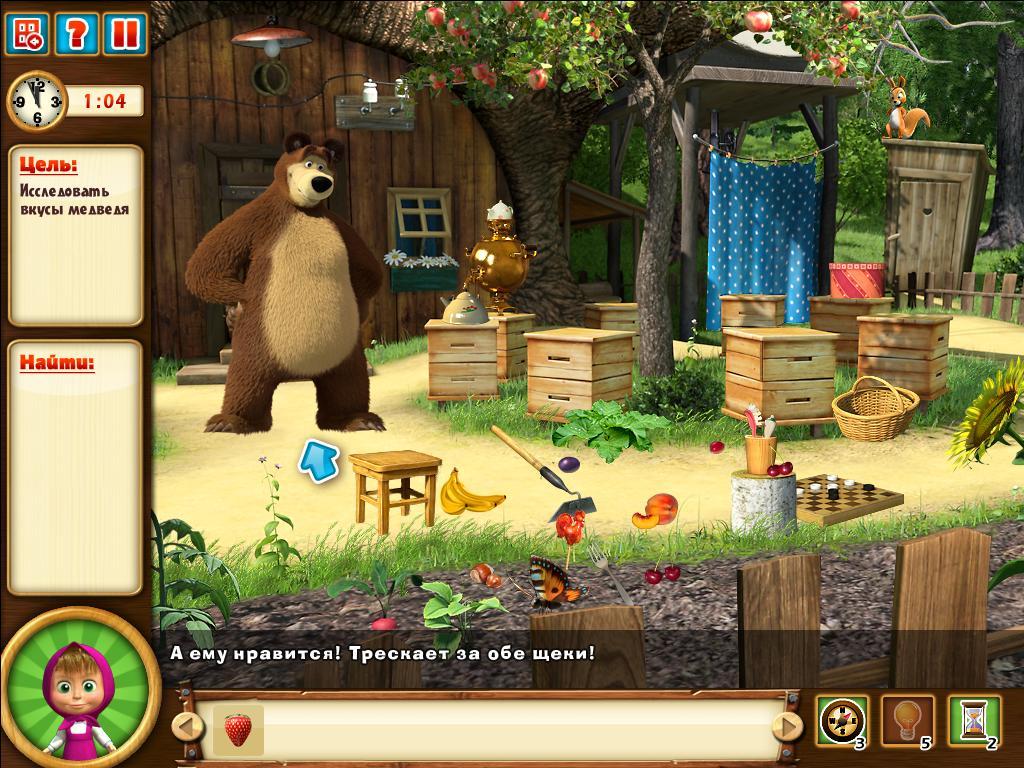 Маша И Медведь Давайте Дружить Скачать Игру