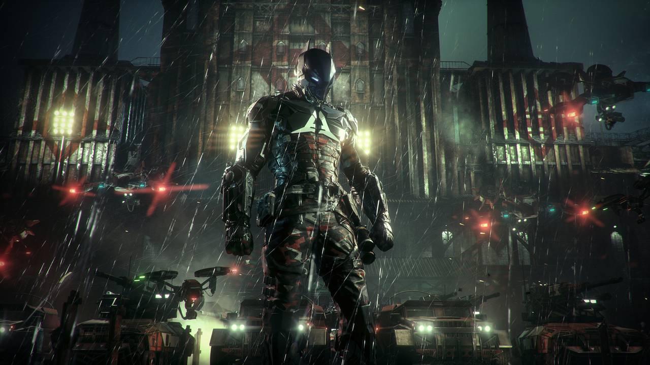Batman: Рыцарь Аркхема / Batman: Arkham Knight для PS4 - Box Art, скриншоты, геймплей, описание