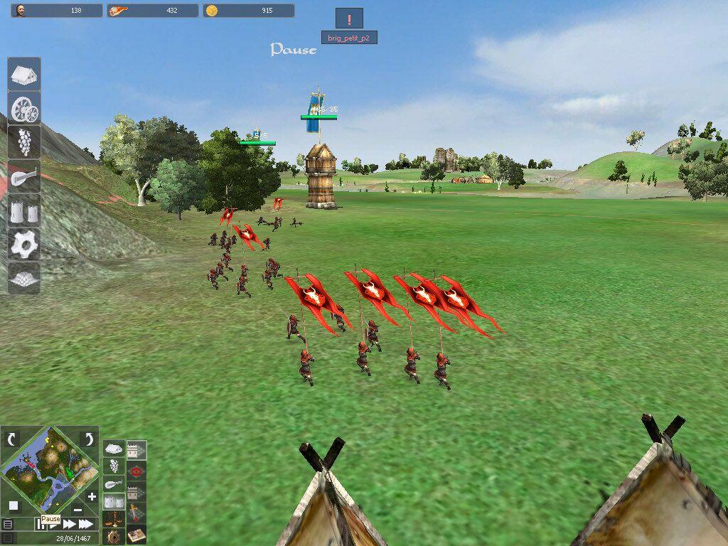 Сценарий игры рыцари средневековья