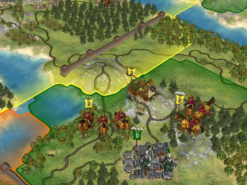 Игра Sid Meier's Civilization IV: Warlords для PC