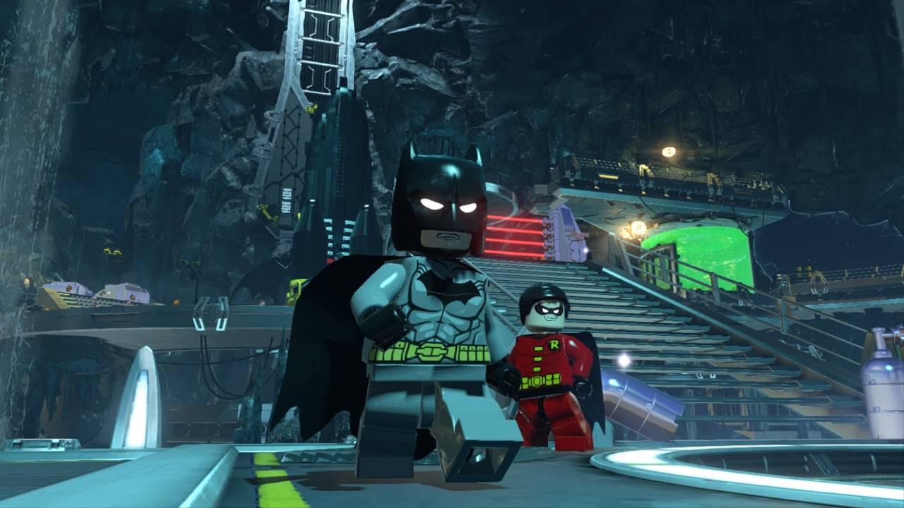 LEGO Batman 3: Покидая Готэм для PS Vita - Box Art, скриншоты, трейлер, описание