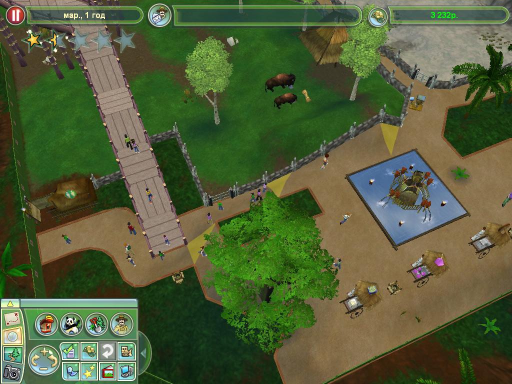 компьютерная игра зоопарк 3
