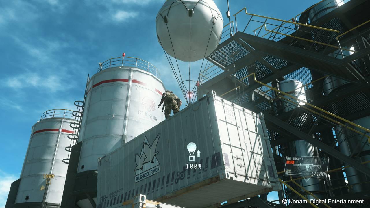 Metal Gear Solid V: The Phantom Pain ��� PS4 - Box Art, ���������, ��������, ��������