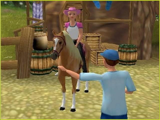 Игры барби приключения на ранчо играть онлайн