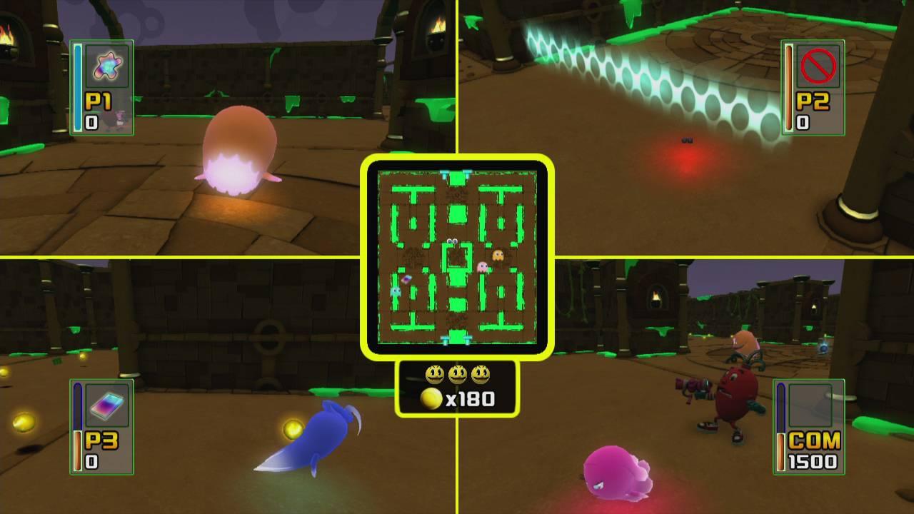 Namco Bandai Пакман в мире привидений