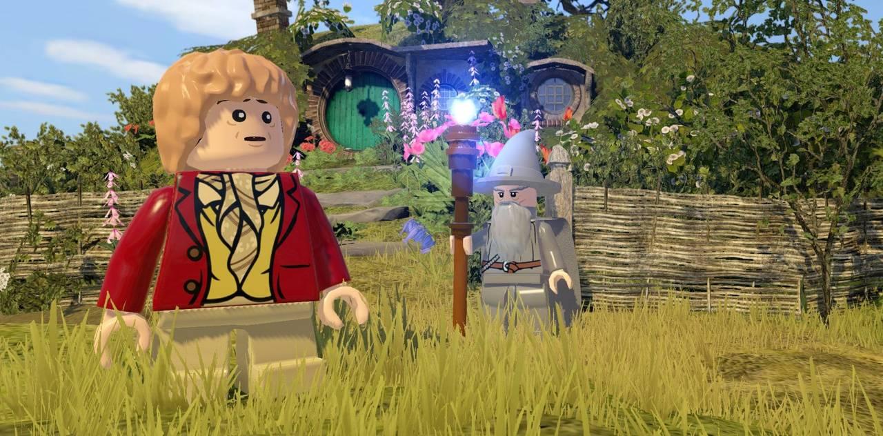 LEGO Хоббит для PS4 - Box Art, скриншоты, геймплей, описание