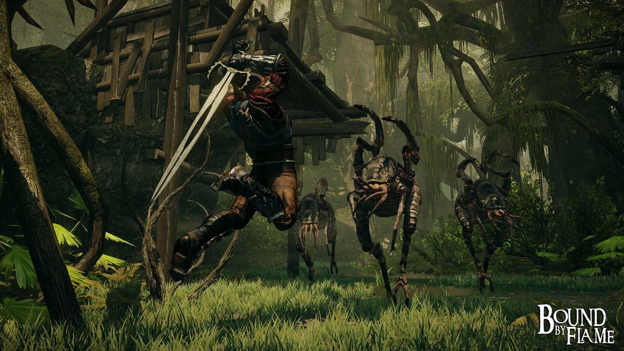 Bound by Flame для PS4 - Box Art, скриншоты, геймплей, описание