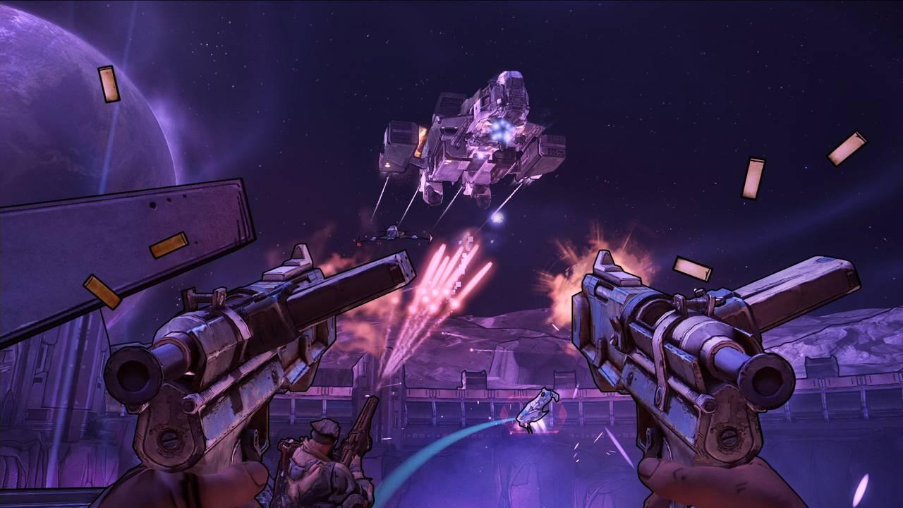 Borderlands: The Handsome Collection для PS4 - Box Art, скриншоты, геймплей, описание