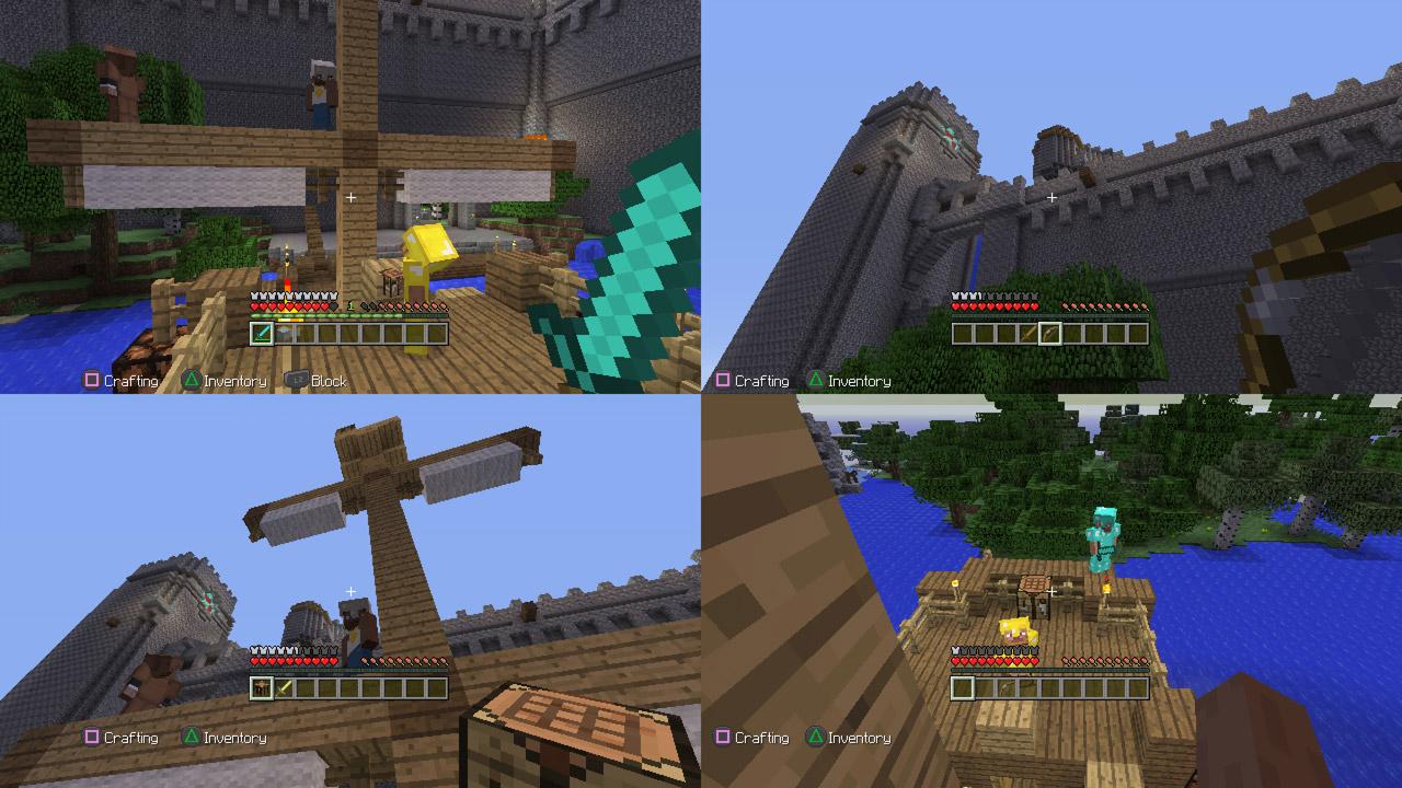Minecraft для PS Vita - Box Art, скриншоты, трейлер, описание