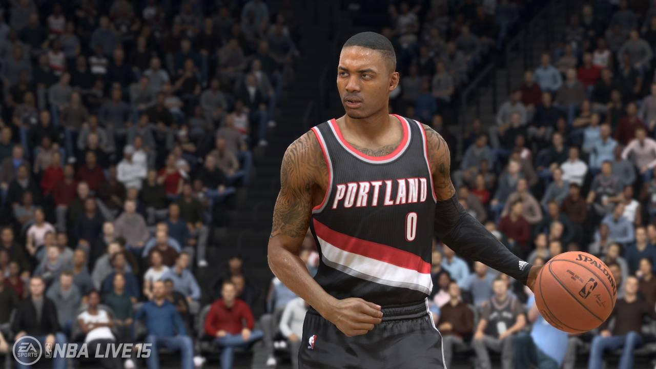 NBA Live 15 для PS4 - Box Art, скриншоты, геймплей, описание