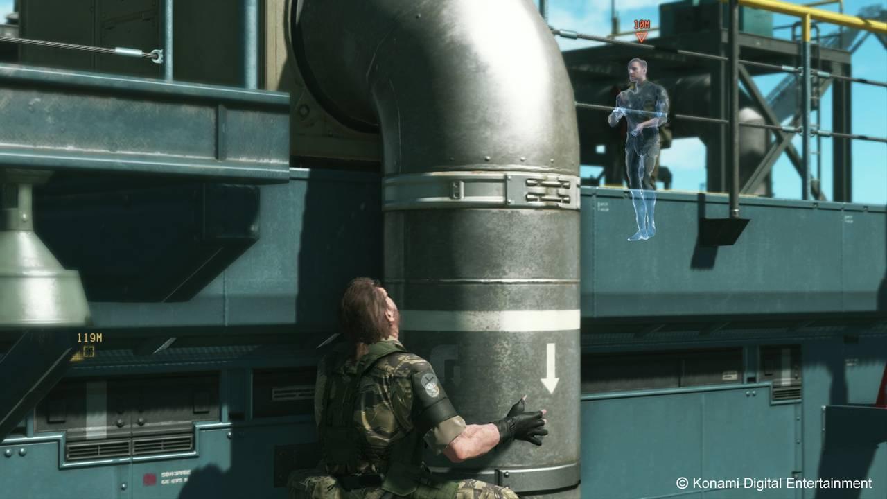 Metal Gear Solid V: The Phantom Pain для PS4 - Box Art, скриншоты, геймплей, описание
