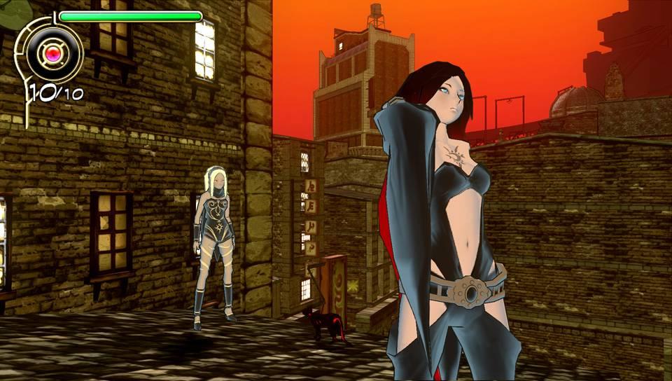 Gravity Rush для PS Vita - Box Art, скриншоты, трейлер, описание