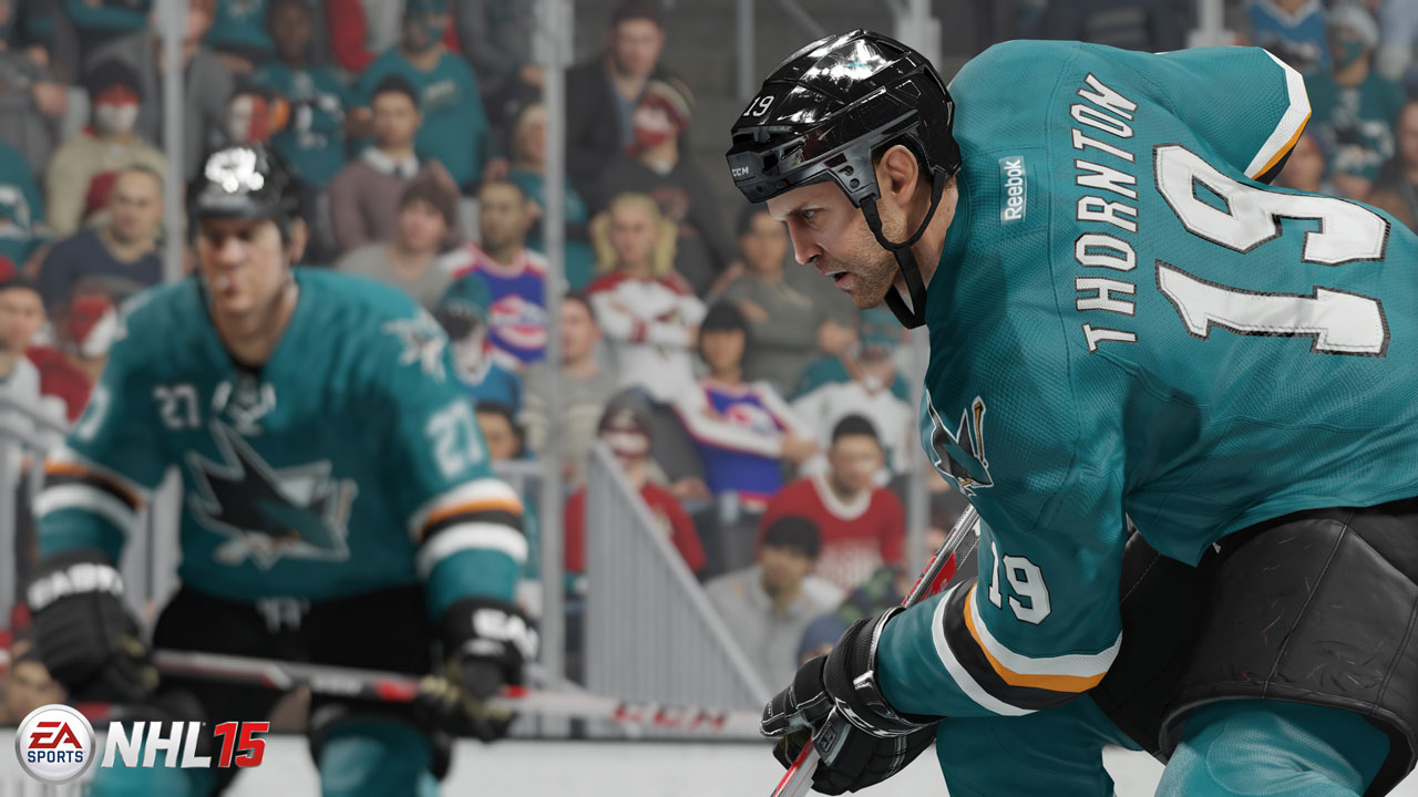 NHL 15 для PS4 - Box Art, скриншоты, геймплей, описание