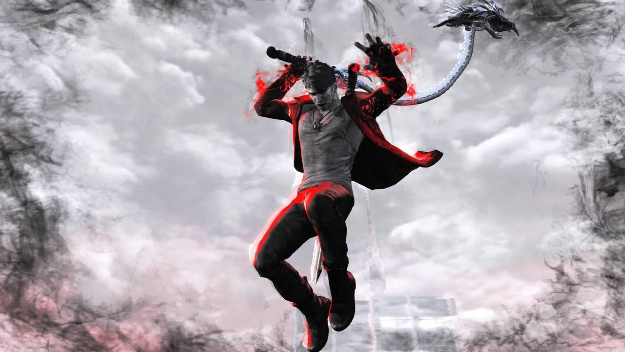 DmC Devil May Cry: Definitive Edition для PS4 - Box Art, скриншоты, геймплей, описание