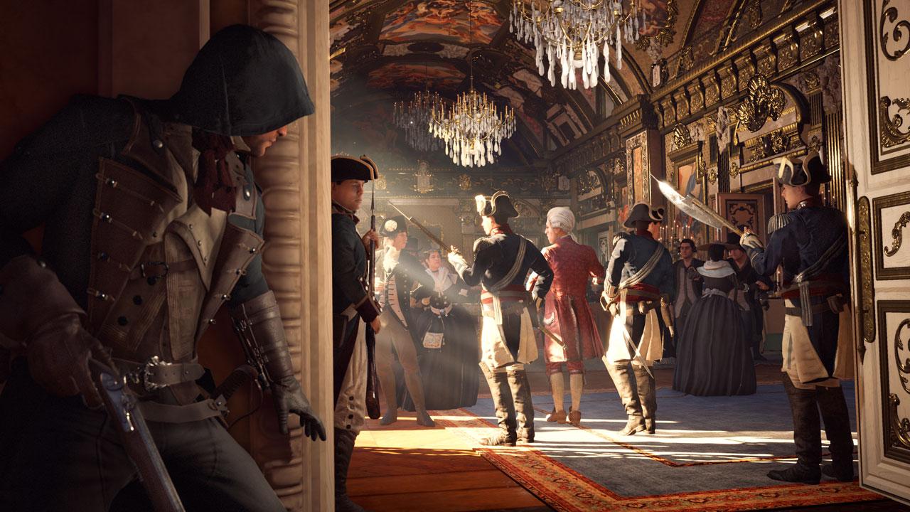 Assassins Creed Unity / Assassins Creed Единство для PS4 - Box Art, скриншоты, геймплей, описание