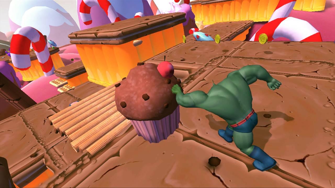 SpongeBob HeroPants для PS Vita - Box Art, скриншоты, трейлер, описание