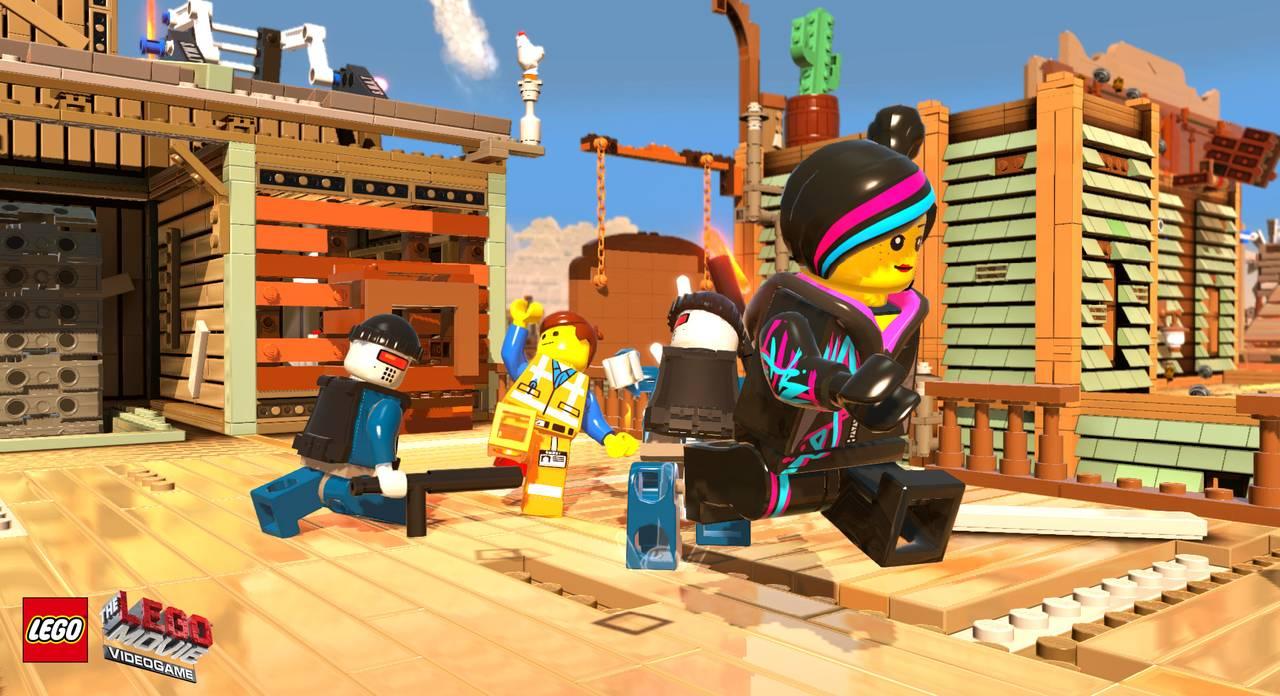 The LEGO Movie Videogame для PS4 - Box Art, скриншоты, геймплей, описание